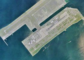 el aeropuerto acuático de Kansai