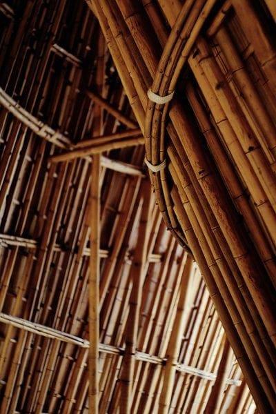 construcciones con bambú