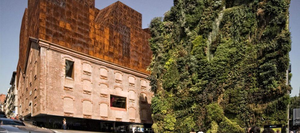 fachada principal Caixaforum Madrid