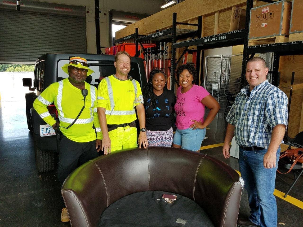 Furniture roadway rescue I-77MP_