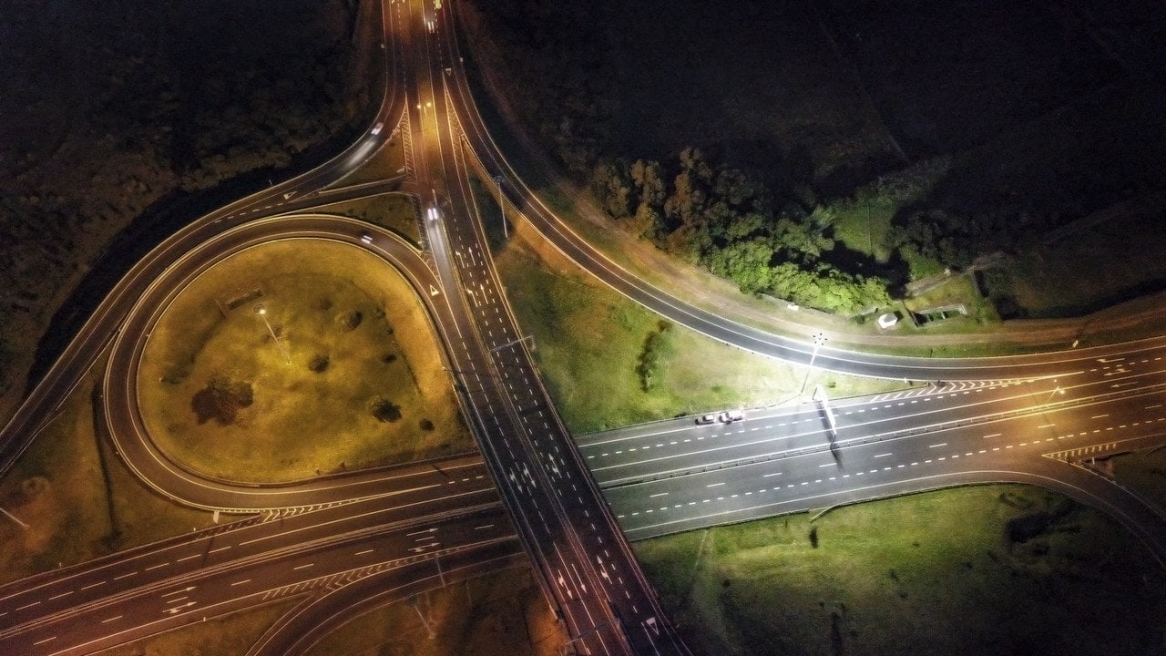 Contaminación lumínica carreteras