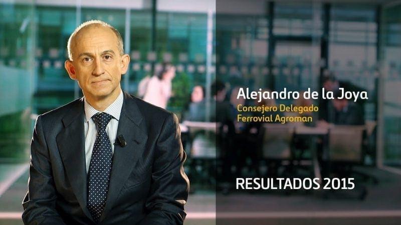 Ferrovial Agroman Construcción Alejandro de la Joya