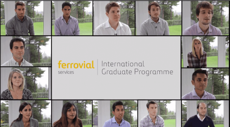 international graduate programme ferrovial services