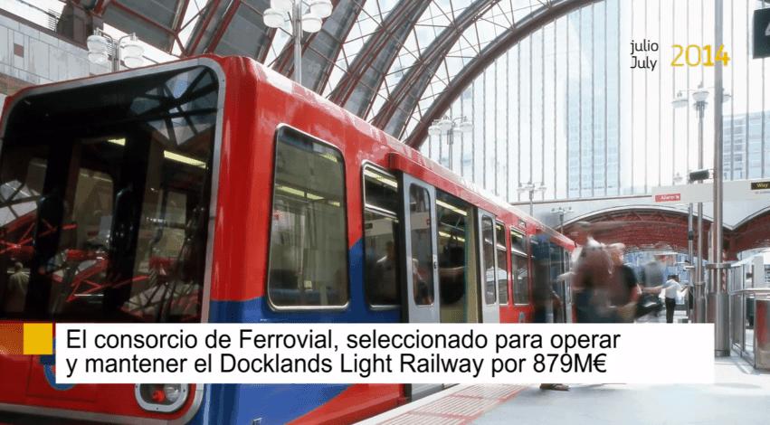 Titulares julio Ferrovial