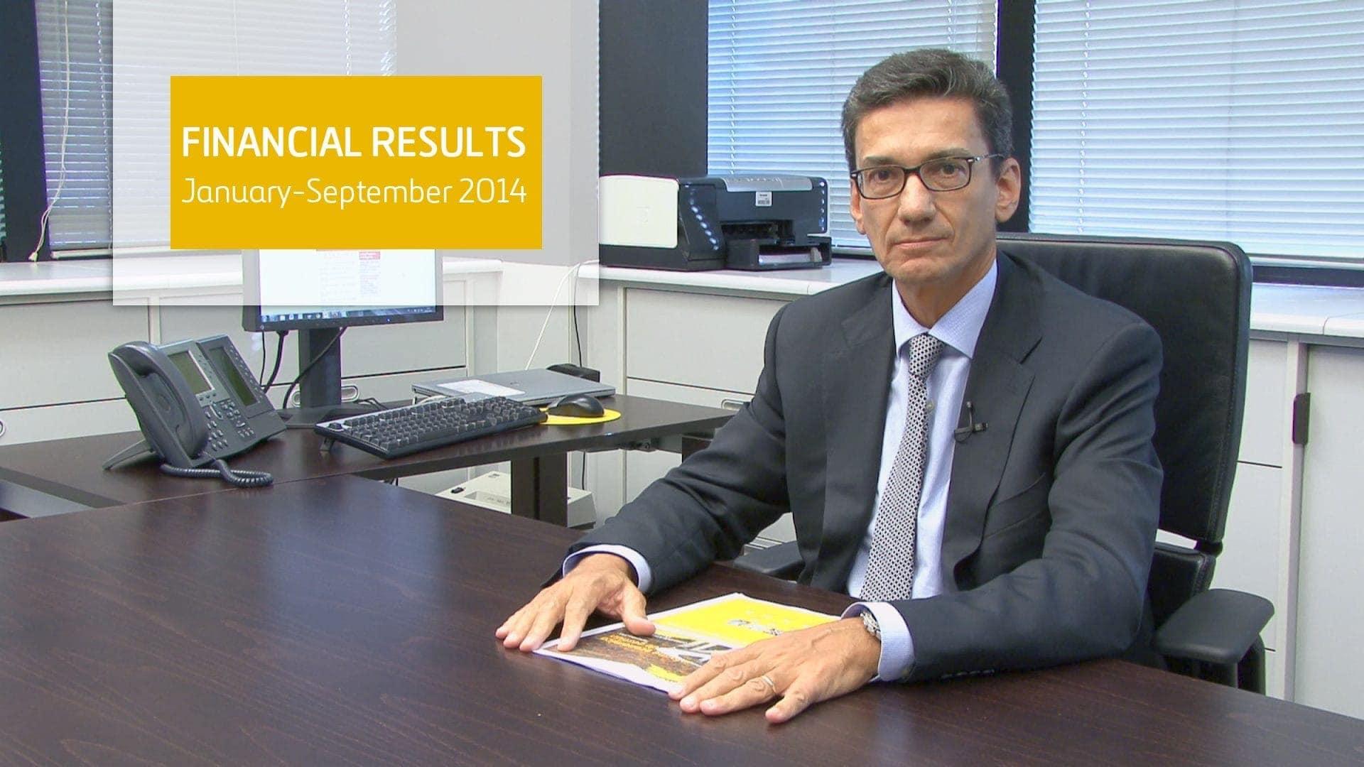 Resultados septiembre 2014