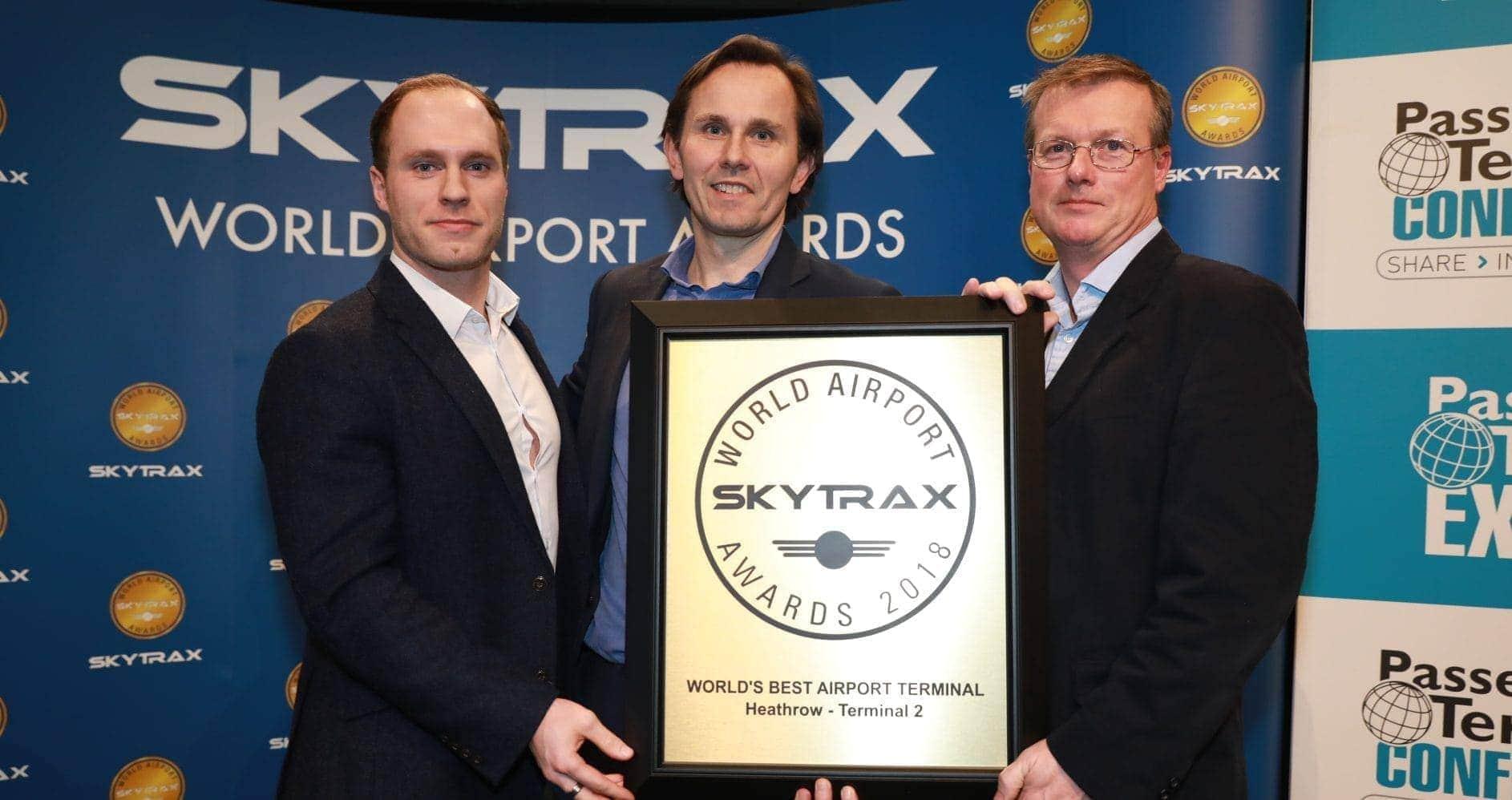 Heathrow Terminal 2 premiada como la mejor terminal del mundo