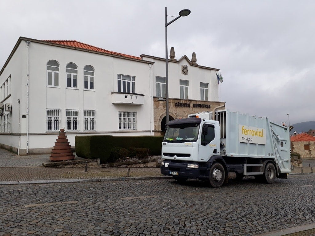 recogida de residuos en portugal ferrovial serviços