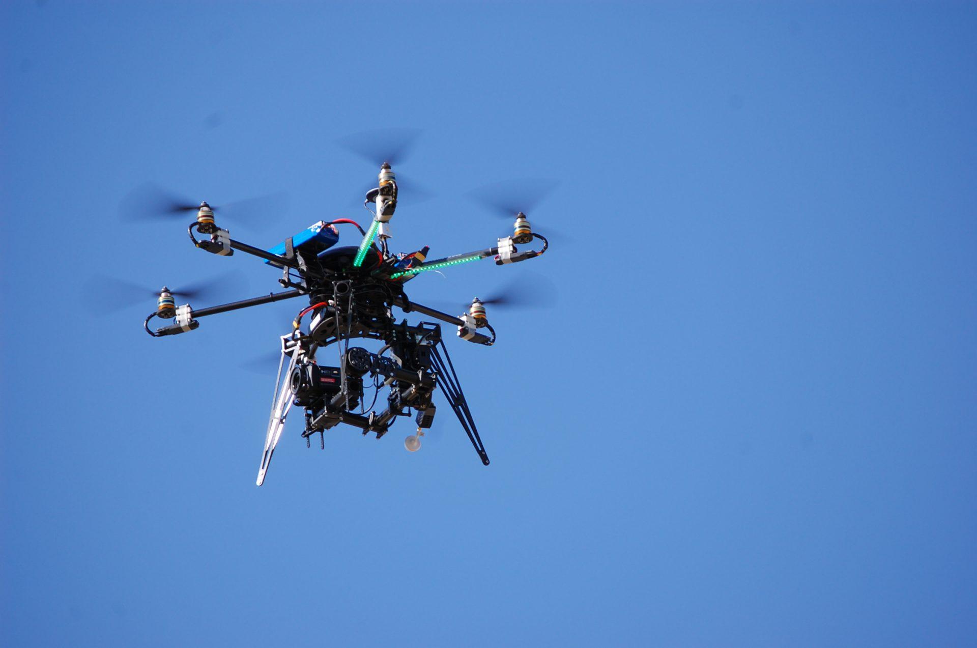 uso de drones proyectos infraestructuras