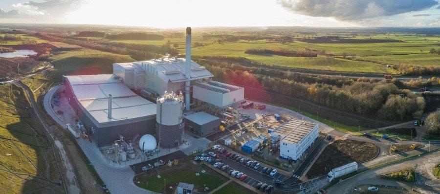 planra de tratamiento de residuos en North Yorkshire reino unido