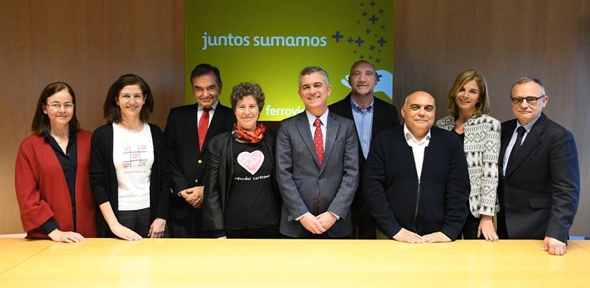 Los ONG CODESPA, Ojos del Mundo, Menudos Corazones y Fundación Ángel Tomás Juntos Sumamos 2018