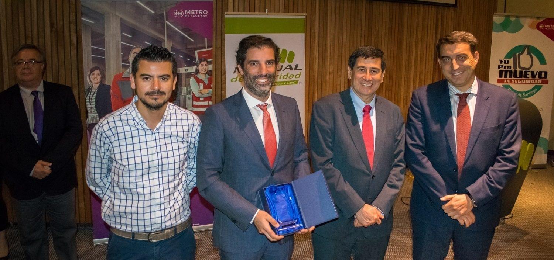 Ferrovial Agroman Chile prevencion riesgos laborales premio