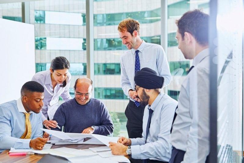 Trabajadores de Amey - Líder en Diversidad