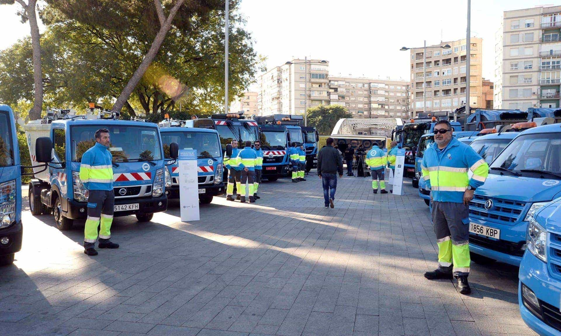 Ferrovial Services Street Cleaning Vehicles Murcia
