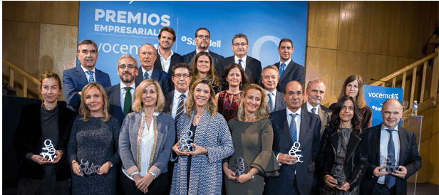 Ferrovial ha sido galardonado en los Premios Empresariales Vocento