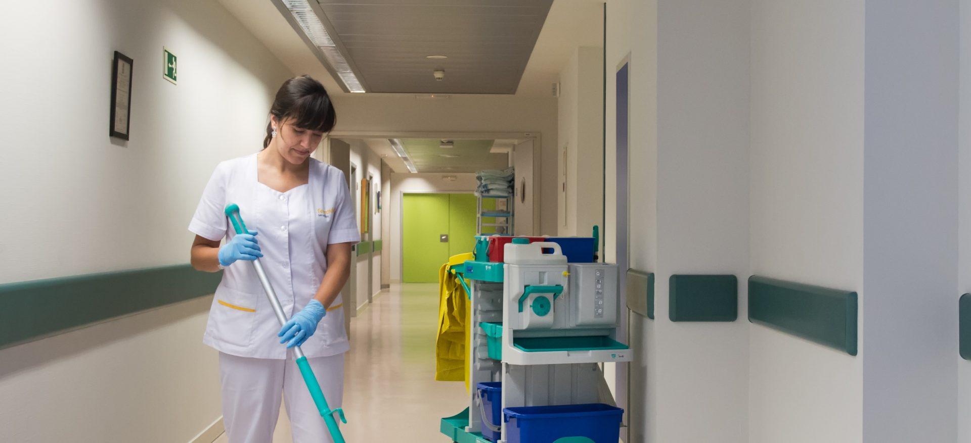 contratos de mantenimiento en portugal limpieza hospital