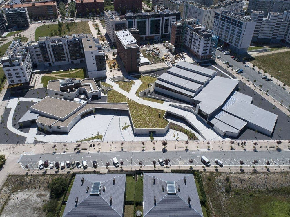 Centro Cívico Zabalgana en Vitoria-Gasteiz,