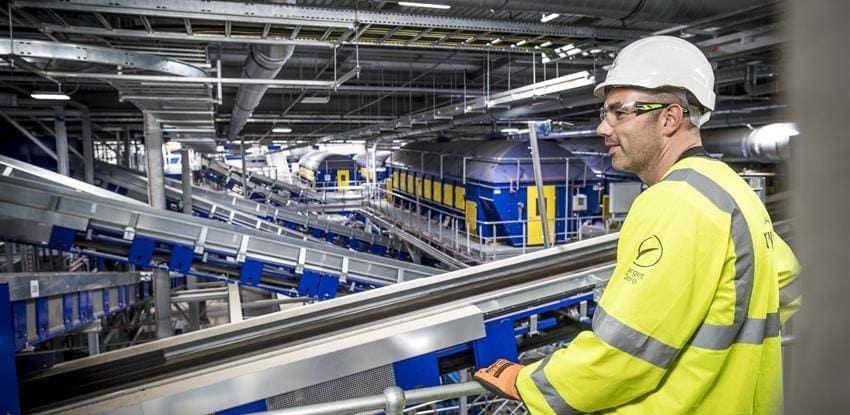 parque de tratamiento de residuos Allerton en Reino Unido