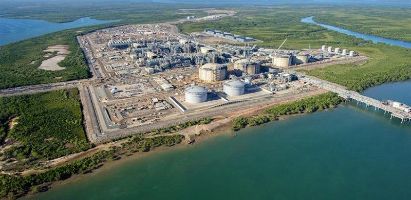 instalaciones gas natural licuado australia