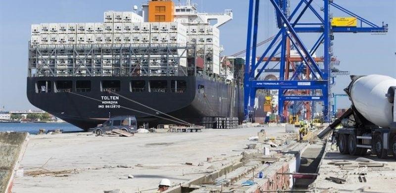 puerto de valencia obras ferrovial