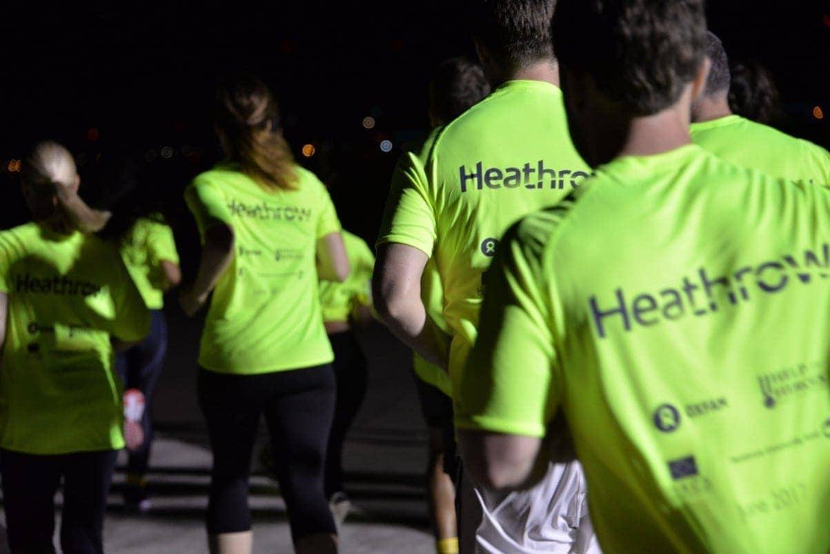 heathrow midnight marathon 2017