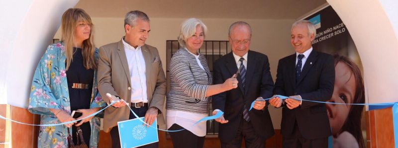 aldeas infantiles inauguración centro de día málaga