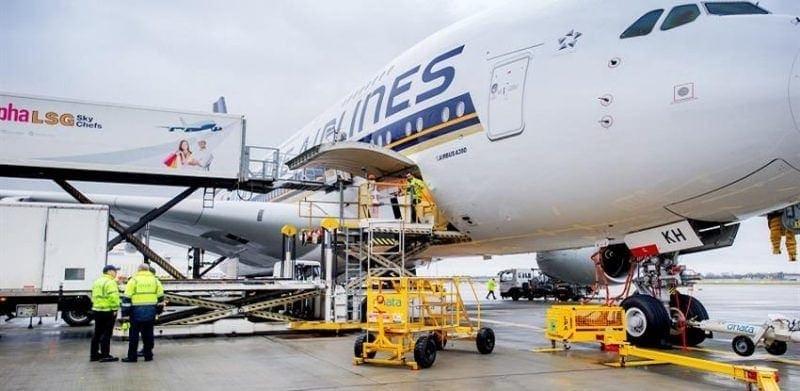 transporte de mercancias heathrow aeropuerto record