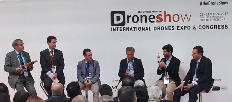 Ferrovial participa en the drone show barcelona