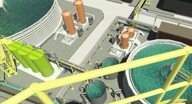 planta de tratamiento de agua Bilbao Cadagua