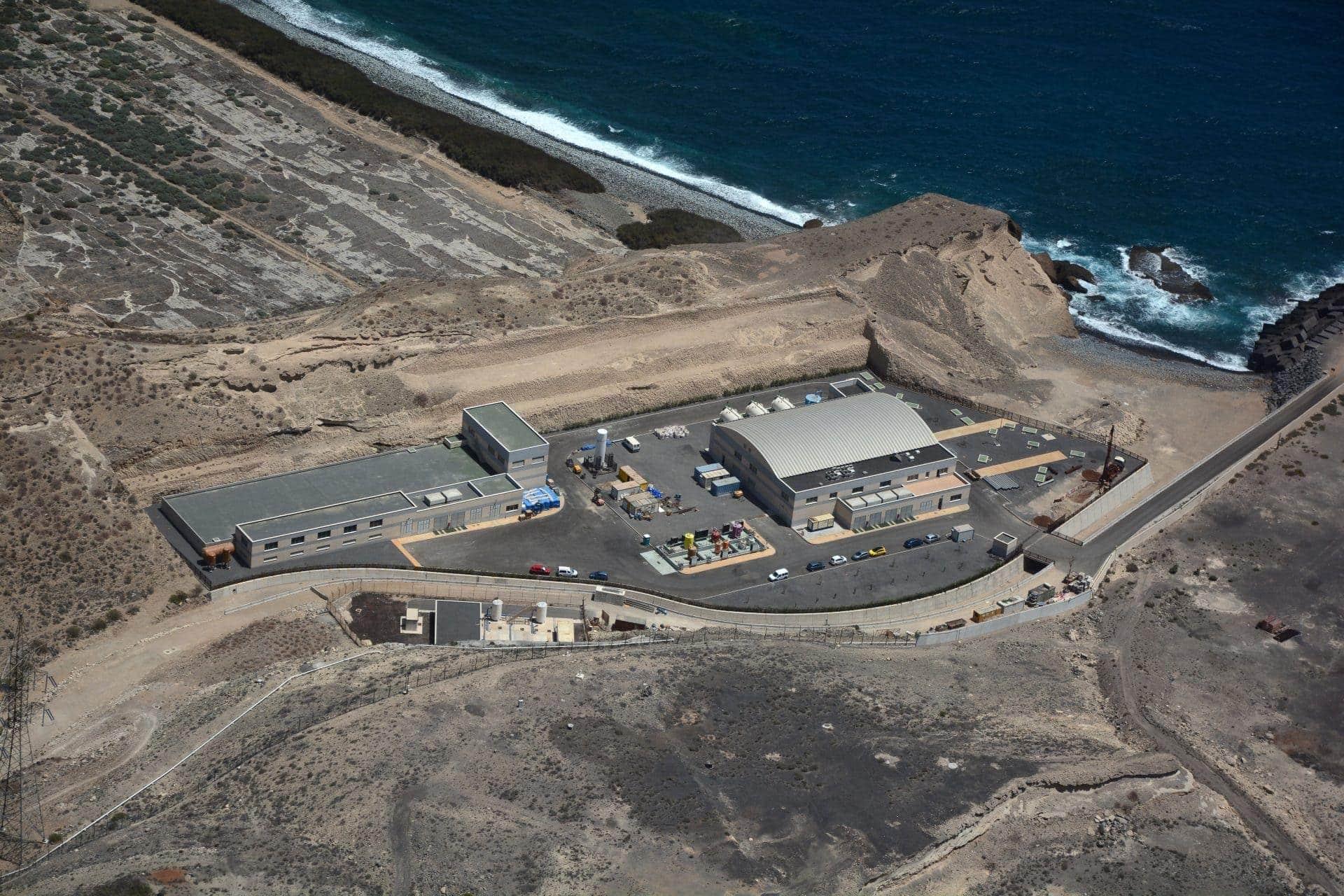 planta desaladora de agua Granadilla en Tenerife