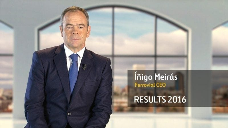 annual financial results 2016 ferrovial