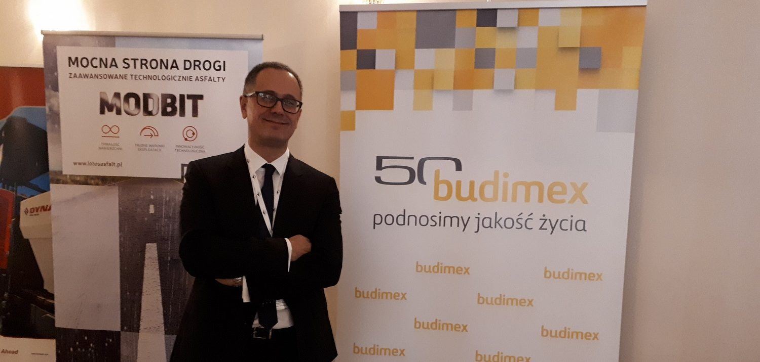 Ditecpesa at the innovation and asphalt surfaces conference Poland