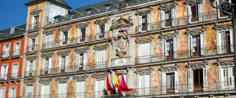 The Casa de la Panadería was restored by ferrovial