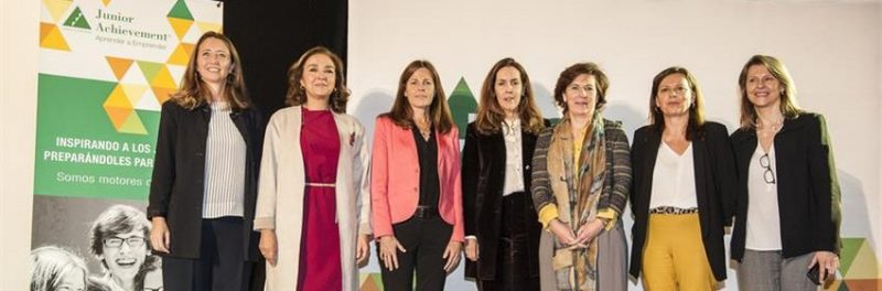 The Female Executives involved in the Orienta-T programme that took place in Madrid