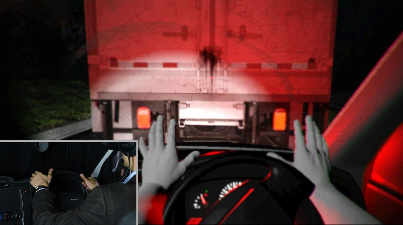 Virtual reality in use to help prevent driver fatigue at Amey