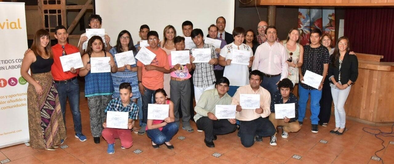 Ferrovial Services has implemented the Trade School social project in Chile