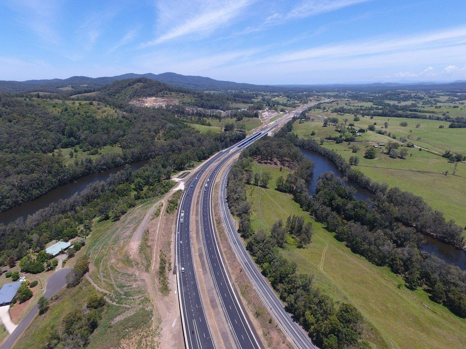 The Pacific Highway in Australia is a BIM project