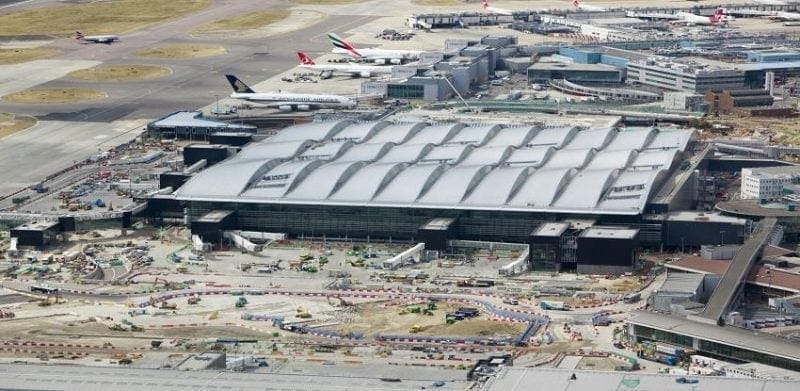 Heathrow - best airport security management