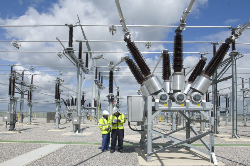 Amey Win Contract for Tomatin Substation. Pictured here is the Bicker Fenn Substation
