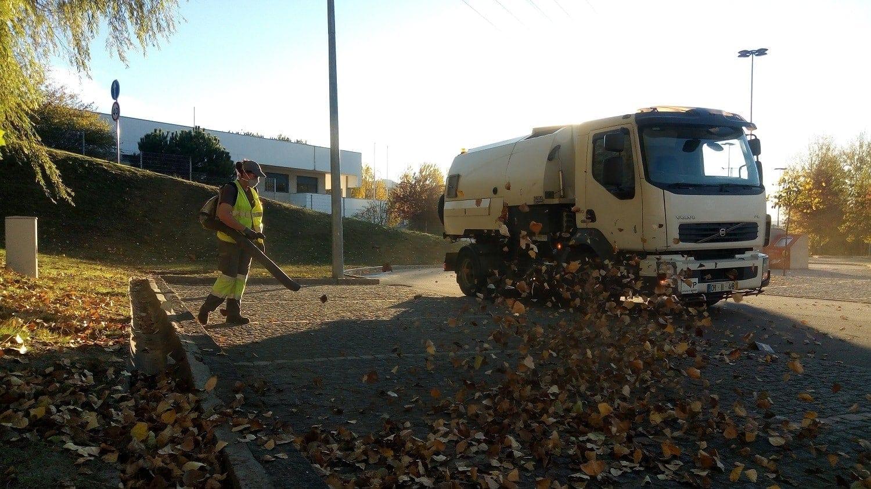 street cleansing arouca in portugal