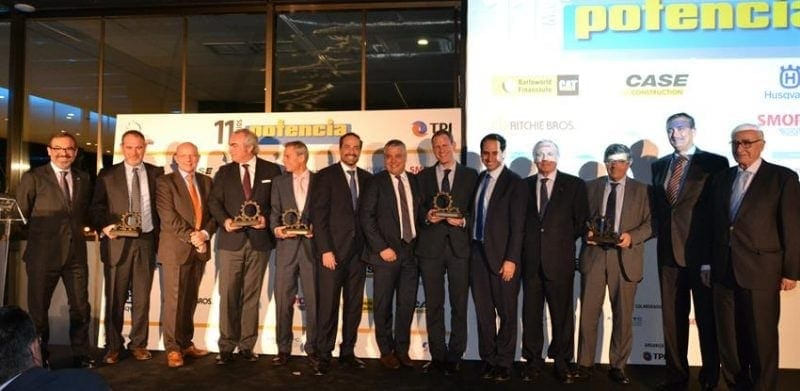Ferrovial Agroman wins at the Potencia Awards 2017