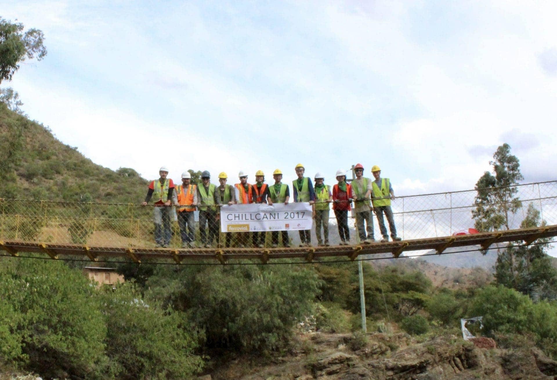 suspension bridge social program bridges to prosperity