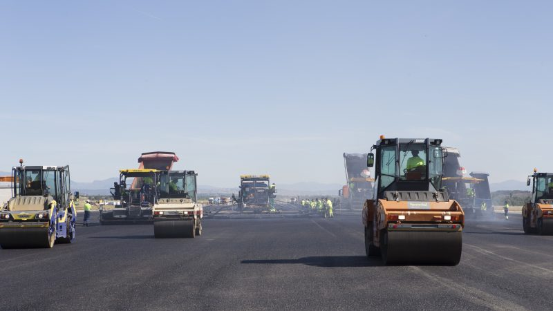 the regeneration of pavement of runway