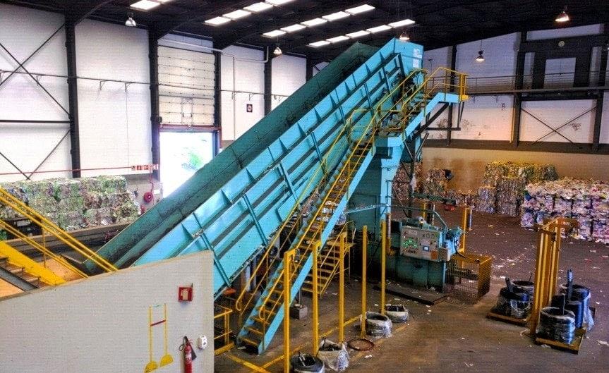 waste separation plant ferrovial servicios portugal lipor