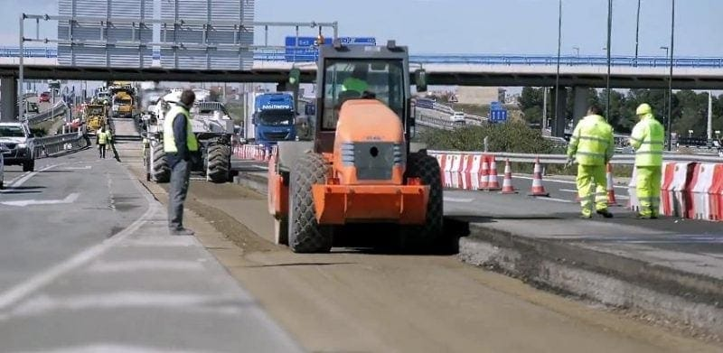 highway pavement zaragoza servicios agroman