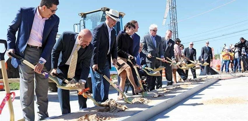 u.s. highway 281 groundbreaking ceremony