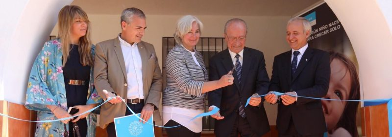 sos children's villages opening day center in malaga