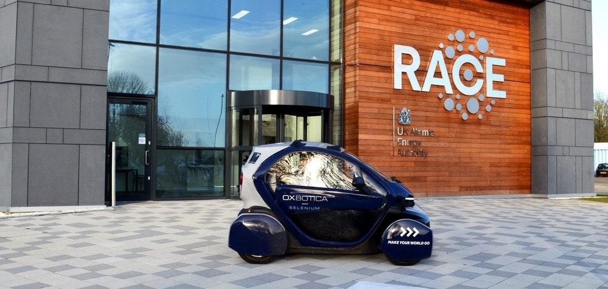 autonomous vehicle amey race