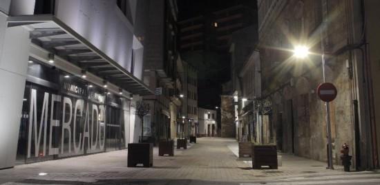 Alumbrado público en Galicia