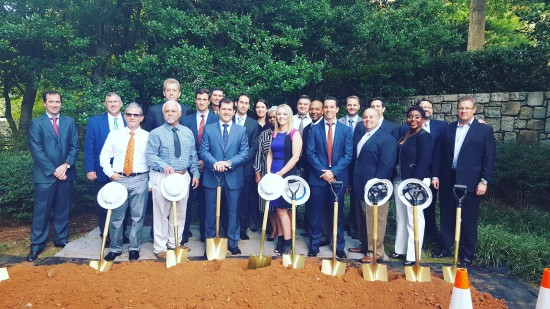Groundbreaking Ceremony- new project in the USA