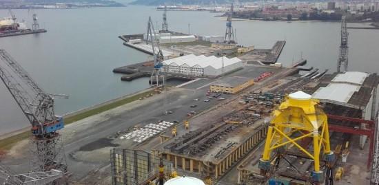 Shipyard Navantia industrial maintenance